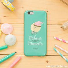 Carcasa para iPhone 6 - Melenas al viento y a vivir el momento. Vive el momento y no dejes que nada del mundo te amargue el día. #mrwonderfulshop #phone #iphone #case #accessories #complements