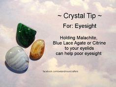 For eyesight