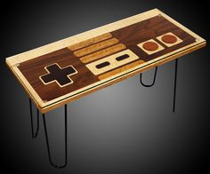 Giveaway: Nintendo Controller Coffee Table   DudeIWantThat.com