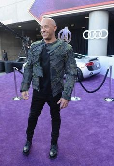 "Vin Diesel Photos - Vin Diesel attends Audi Arrives At The World Premiere Of ""Avengers: Endgame"" on April 2019 in Hollywood, California. - Audi Arrives At The World Premiere Of 'Avengers: Endgame' Dominic Toretto, Scott Mccall, The Expendables, Jason Statham, Jackie Chan, Vin Diesel, Sylvester Stallone, Jack Nicholson, In Hollywood"