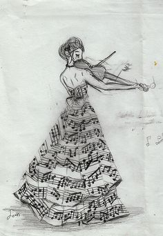 awesome music drawing