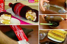 Comment faire un bonbon XXL en forme de bouteille de Coca Cola