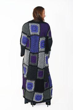 Handmade wool cardigan,long cardigan , unique cardigan, loose fit wool cardigan by LeDueLune on Etsy https://www.etsy.com/listing/492540924/handmade-wool-cardiganlong-cardigan