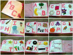alphabet quiet book idea
