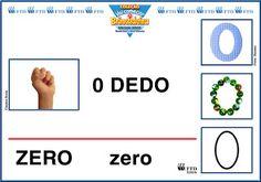 EDUCAÇÃO INFANTIL: Numerais  para decorar sala (0-10)