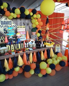 Birthday party food ideas for kids boys construction theme 58 ideas 2nd Birthday Party Themes, Second Birthday Ideas, Birthday Party Decorations, Construction Birthday Parties, Construction Party, First Birthdays, Digger Party, Kids Boys, Food Ideas