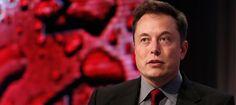 Tesla Motors CEO Elon Musk talks at the Automotive World News Congress at the Renaissance Center in Detroit