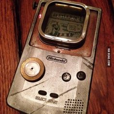 Steampunk Game Boy Color