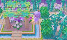 I think thesis the nicest layout using the wisteria trellis Ive seen!   By sheep cakes on TUmblr