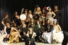 The designers and models at the Mistress Fogg and the League of Fogg presents: the Steampunk Salon #steampunk