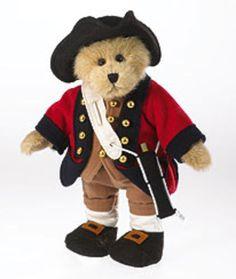 Colonial Williamsburg Boyds Bear Fifer Benjamin Limited Edition Plush Doll Fife