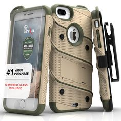 iPhone 7 Plus Case Bolt Military Grade