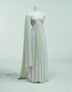 Dress  Madame Grès, 1944  The Kyoto Costume Institute