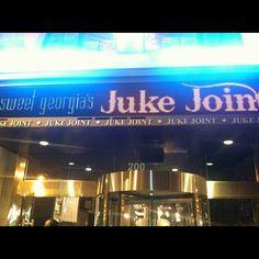 "Dinner and entertainment-Sweet GA Juke Joint Downtown #Atlanta"" www.pinksugaratlanta.com"