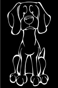 The Dog of the Day is the Weimaraner .  Every Dog has its Decal! Show off your love for your Soulmutt with a Decal Dog Car Window Sticker. And bark loud and proud by personalizing it with your dog's name! #decaldogs #dogsofpinterest  #Weimaraner