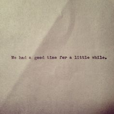 remember the good in life-even if there are bad outcomes, take the happy moments in your mind.