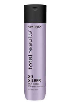Discover Matrix Color Obsessed So Silver previously known as Color Care So Silver. Use with Total Results Color Obsessed Conditioner for optimal results. WHAT IT DOESNeutralizes brassy warmth and corrects dull, yellow tones. Lila Shampoo, Purple Shampoo And Conditioner, Shampoo For Gray Hair, Color Shampoo, Best Silver Shampoo, Best Purple Shampoo, Toning Shampoo, Clarifying Shampoo, Lace Wigs