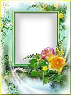 Rámeček Flower Backround, Flower Background Wallpaper, Frame Background, Rose Frame, Flower Frame, Boarders And Frames, Frame Border Design, Printable Frames, Framed Wallpaper