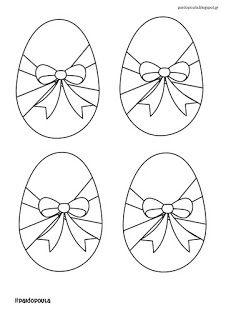 Σελίδες ζωγραφικής με πασχαλινά αβγά Preschool, Easter Activities, Kid Garden, Kindergarten, Preschools, Kindergarten Center Management