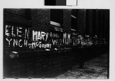 [Graffiti on Wall, New York City] Walker Evans (American, St. Louis, Missouri 1903–1975 New Haven, Connecticut) Date: November–December 1937