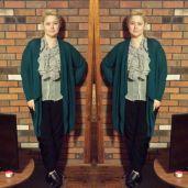 Curating OOTD 3 / baubles&knots / drape shape