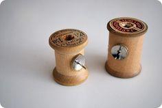 raft Tutorial: Vintage Wooden Spool Cork Board