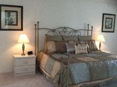 Master Bedroom #disney #rental #vacation http://www.homeaway.com/vacation-rental/p236453