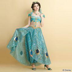 Cock 楽 天-】 cock Pfauenkleid (Aladdin - Live-Actionfilm Prinzessin Jasmine ve . Jasmine Party, Jasmine Costume, Jasmine Dress, Disney Princess Jasmine, Cinderella Princess, Princess Aurora, Princess Bubblegum, Disney Queens, Girl Outfits