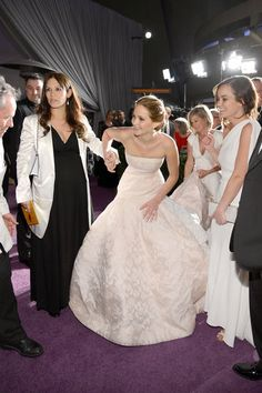 The Ultimate 2013 Oscar Gallery! Jennifer Lawrence celebrated her Oscar win at the Governors Ball.
