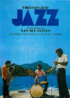 San Sebastian's Jazz Festival poster 1973