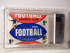 1957 Topps 1 Cent Football Wax Pack GAI Mint 9 NFL Cards Rare #NFLCollectibles