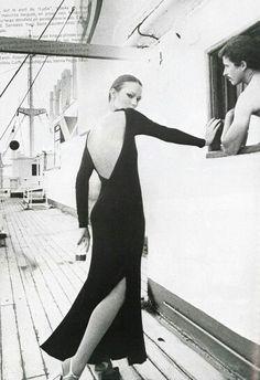 Vogue Paris 1975 Vibeke Knudsen by Henry Clarke
