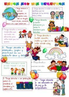 Derechos del niño y la niña a la Educacion Materiales para todas las Etapas - Orientacion Andújar