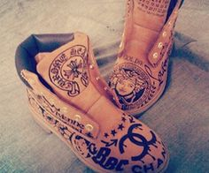 customs timberland boots - Google Search