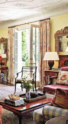 English country interior design