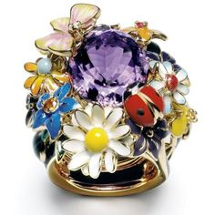#Dior Joaillerie ring  by Victoire de Castellane