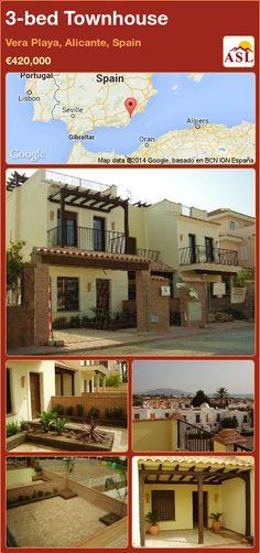 3-bed Townhouse in Vera Playa, Alicante, Spain ►€420,000 #PropertyForSaleInSpain