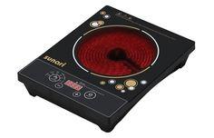 Sản xuất tại: Trung Quốc  Công suất 2000W  Phiếm điều khiển cơ  6 chức năng nấu nướng thực phẩm, dễ dàng lựa chọn  Địa Điểm Vàng giao sản phẩm cho khách hàng  Áp dụng cho sản phẩm Bếp Hồng Ngoại Cảm Ứng Sunari KT-IC168