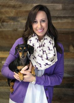 Women's Bella Dachshund Dog Infinity Scarf Fashion Shawl (Emerald) at Amazon Women's Clothing store: