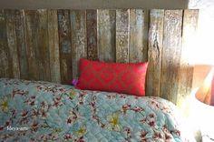 Cabeceira de cama madeira de demolição, decoração, quarto,
