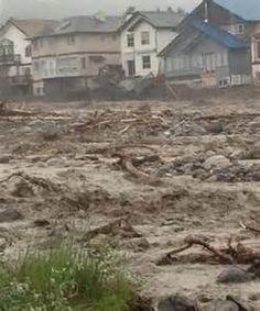 Canmore flood - June 2013