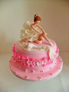 ❥Ballet Soirée. Ballerina cake
