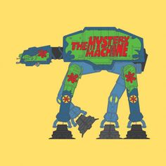 The best of a series of vehicular-inspired stylized AT-ATs.  Scooby Doo + Star Wars = Win.