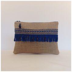 Ethnic woven jute bag Source by maclaudiax Diy Wallet No Sew, Diy Wallet Pattern, Crochet Wallet, Couture Cuir, Pochette Diy, Diy Clutch, Fabric Bags, Linen Fabric, Cotton Fabric