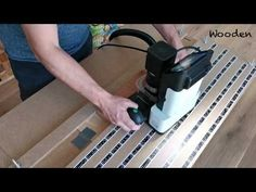 Shaper Origin Jig to work on small pieces and save marker tape - Low budget - DIY - YouTube