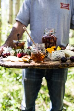 How to make a Killer Summer Cheeseboard (with Pickled Strawberries + Herb Roasted Cherry Tomatoes!)   halfbakedharvest.com