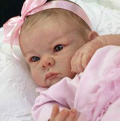 Reborn Baby This is one I would want for myself...I love dolls that look like babies and she is so real.....