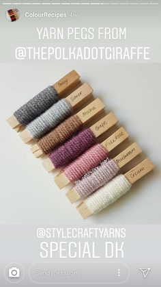 Yarn Color Combinations, Best Color Schemes, Color Schemes Design, Crochet Home, Crochet Yarn, Yarn Projects, Crochet Projects, Yarn Thread, Yarn Bombing