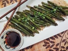 Let the readily oiled beans of string take you. | 19 Savory And Authentic Chinese Foods That Need Your Mouth