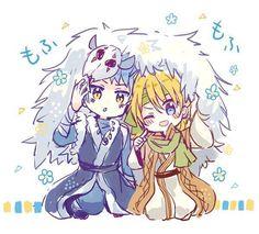 Akatsuki no Yona ♥ (Yona of the Dawn) ♡ Shin-ah and Zeno
